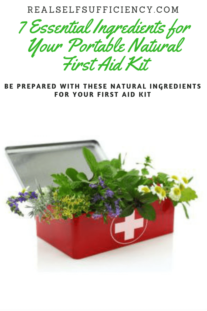 natural first aid kit for travel