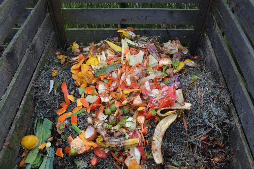 turn the compost pile