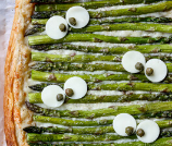 Monster Eye Asparagus Gruyere Tart