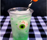 Easy Eyeball Halloween Drink