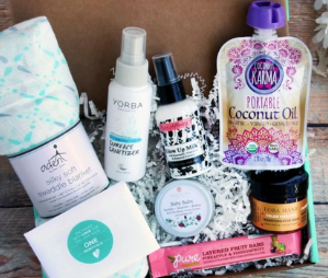 Ecocentric Mom eco-friendly subscription box for moms
