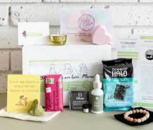 Crunchy Mama eco-friendly subscription box for moms
