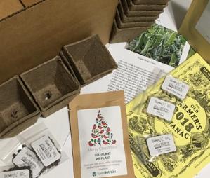 Bloomin' Bin eco-friendly gardener subscription box gift idea
