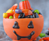 Edible Pumpkin Candy Cups