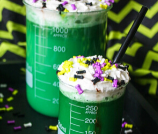 Mad Scientist Halloween Drink