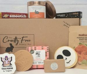 The Cruelty Free Beauty Box eco-friendly vegan beauty subsctiption box
