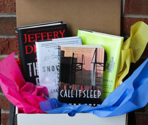 Used Books Monthly book lovers subscription box gift idea