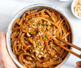 15-Minute Spicy Peanut Butter Noodles