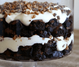 Brownie Pudding Toffee Trifle