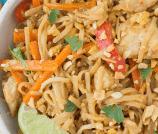 Easy, Healthy Chicken Pad Thai