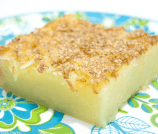 Hawaiian Coconut Mochi Cake Recipe