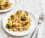 Quinoa, Feta, and Broccoli Salad