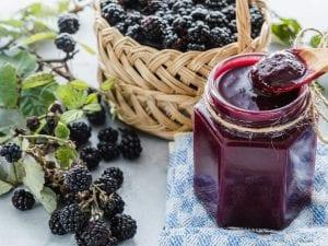 no sugar blackberry jam recipe