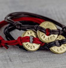 recycled bracelet eco-friendly unisex gift