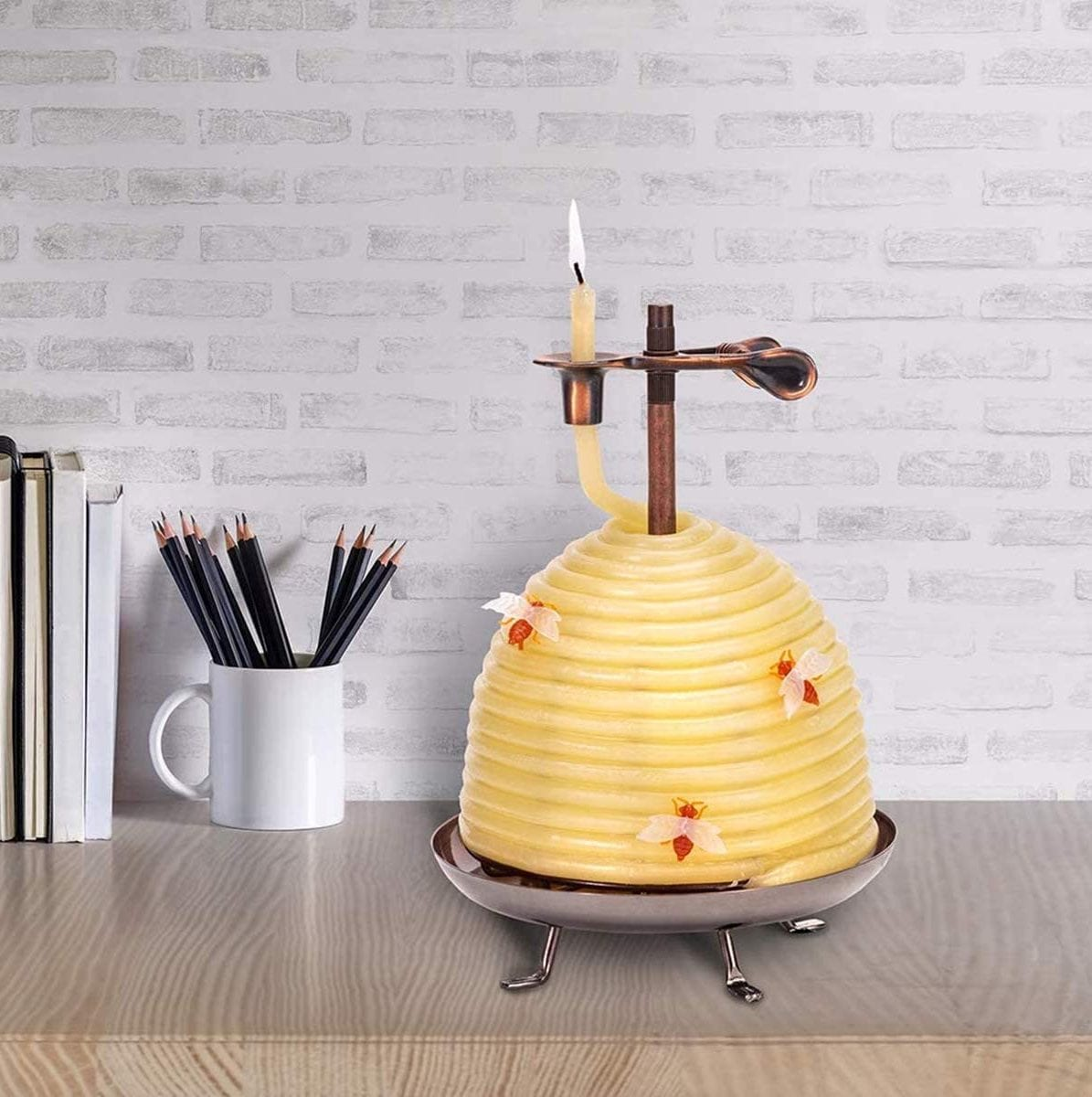 beehive candle eco-friendly gift