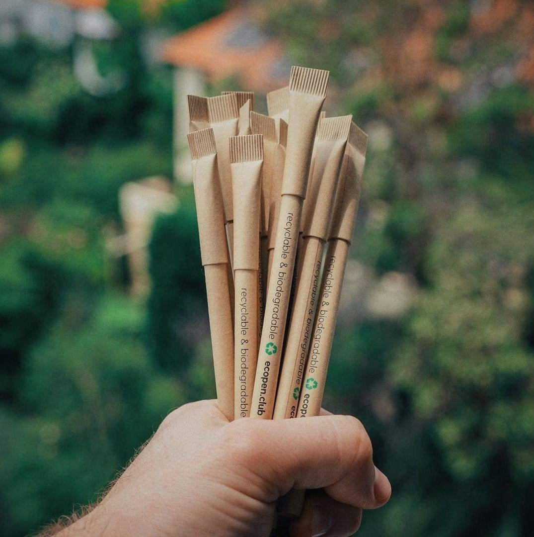 eco-friendly pen gift set