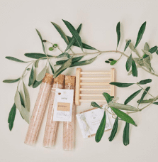 natural vegan spa gift box