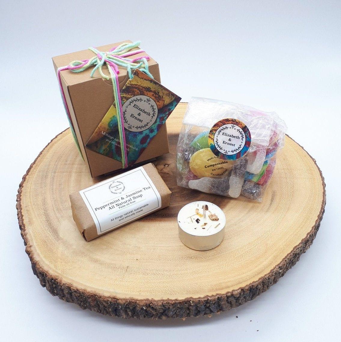 natural vegan gift box eco-friendly plastic-free gift