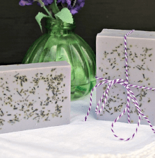 lavender and rosemary melt and pour soap recipe